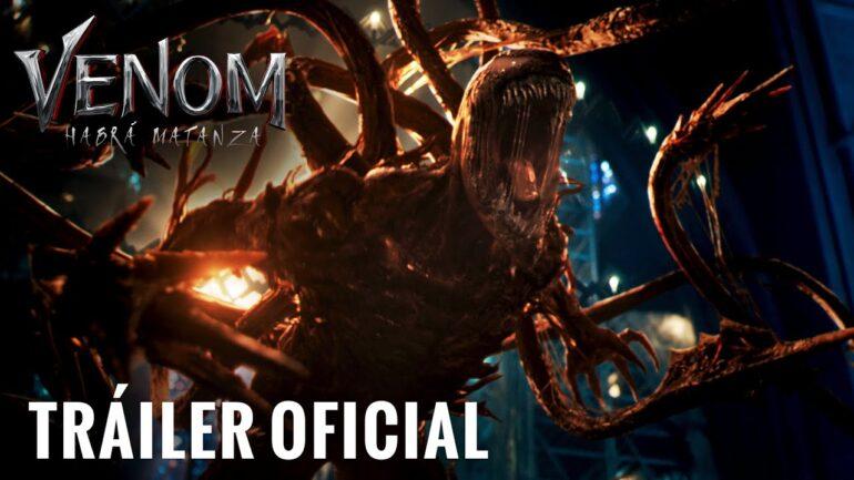 Venom: Habrá Matanza muestra a su gran villano en su primer tráiler