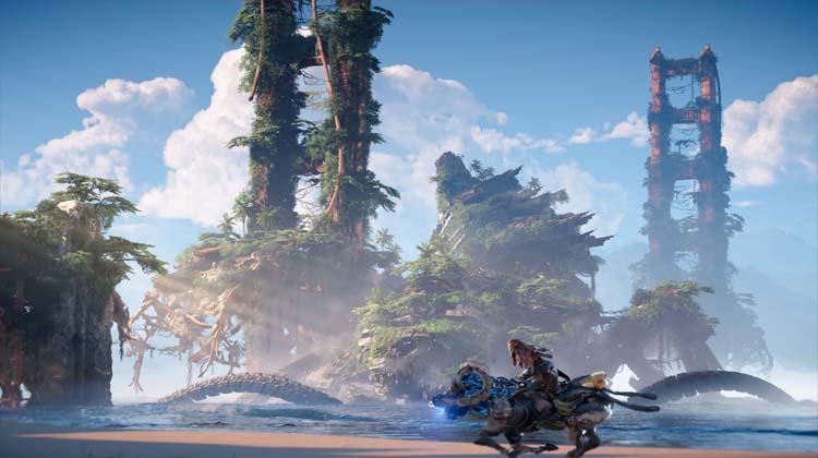gameplay de Horizon: Forbidden West