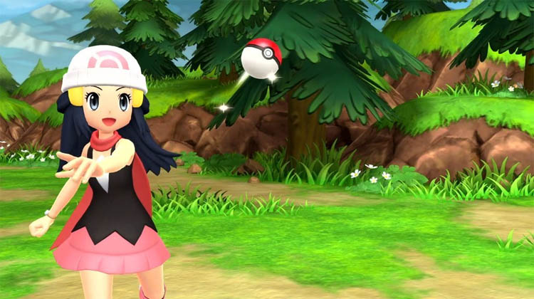 fecha de Pokémon Diamante Brillante y Perla Reluciente