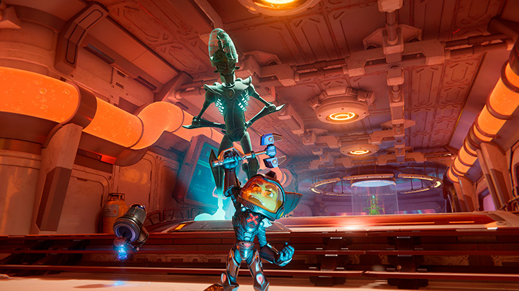 análisis de Ratchet & Clank Una dimensión aparte 7