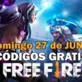 canjear Free Fire códigos gratis 27 junio 2021 codigo Free Fire