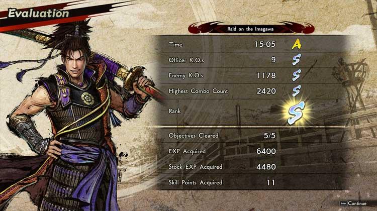 impresiones de Samurai Warriors 5