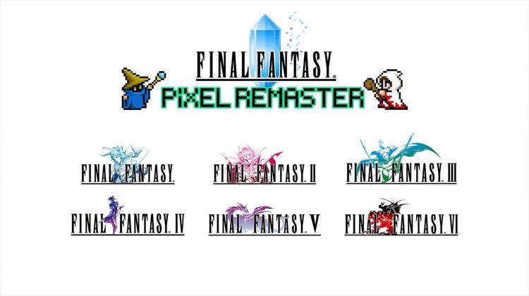anuncio de Final Fantasy Pixel Remaster