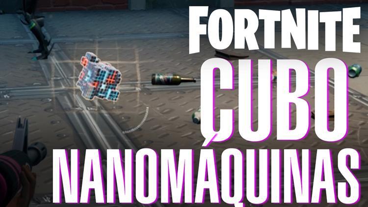 Fortnite Temporada 7 Semana 5 cubo nanomáquinas alienígena