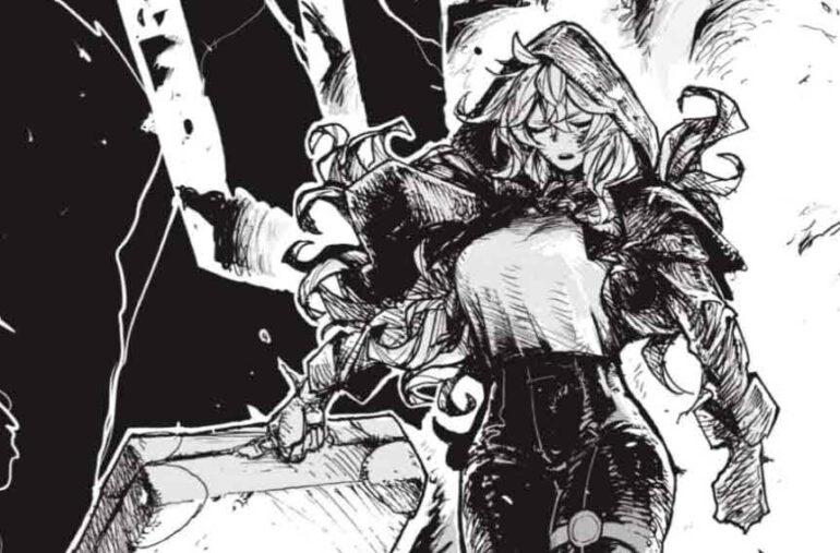 Primeros capítulos del manga El gremio de cazadores: Red Hood