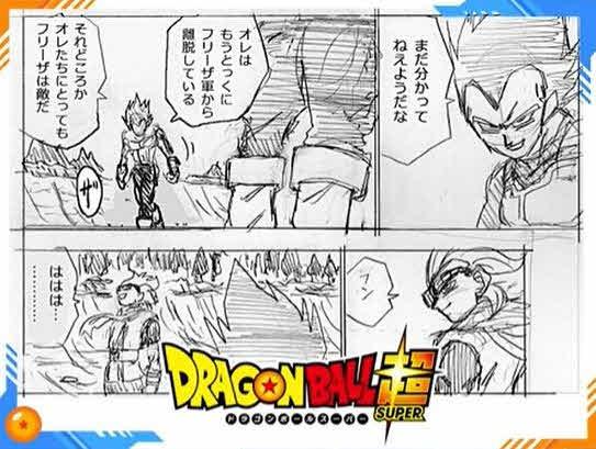 borradores Toyotaro manga Dragon Ball Super 74