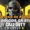 Códigos Call of Duty: Mobile gratis del 5 de agosto de 2021